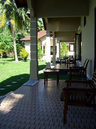 Yuli's Homestay: Homestay terraces