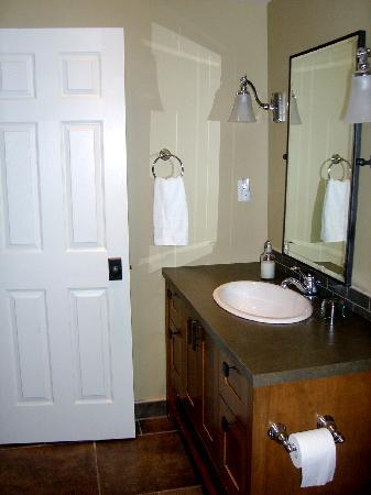 Fitzhugh House : view into the bathroom