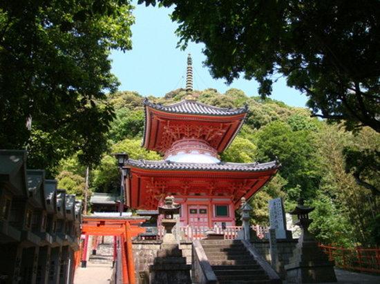 Heguri-cho, Japón: 朝護孫子寺:多宝塔