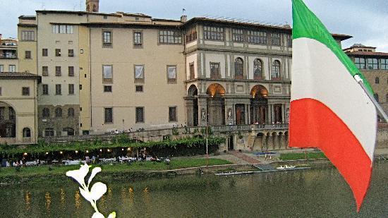 view from Ristorante Alfredo sull'Arno