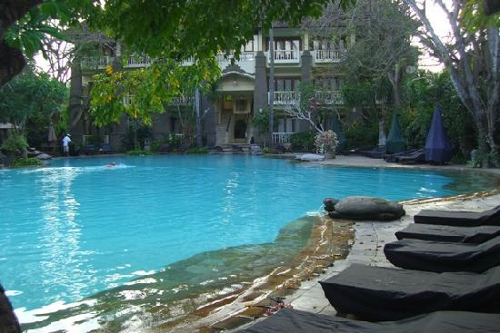 Hotel Kumala Pantai: Our rooms overlooking the Swimming Pool