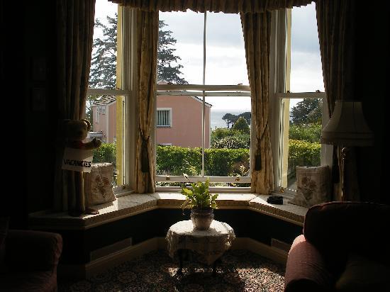 The Sandy Duck: VIEW FROM SITTING ROOM