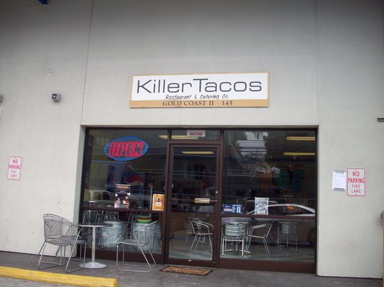 Killer Tacos Incorporated : Front of Killer Tacos.