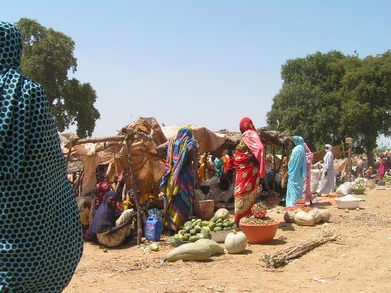 Chad: marché de Linia