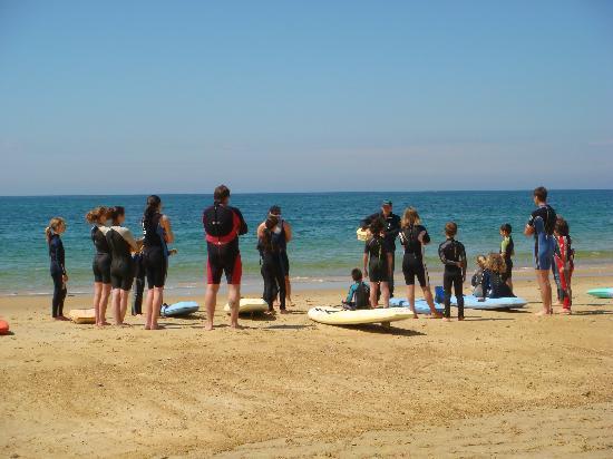 Landes, Frankrig: Cours de surf à Capbreton