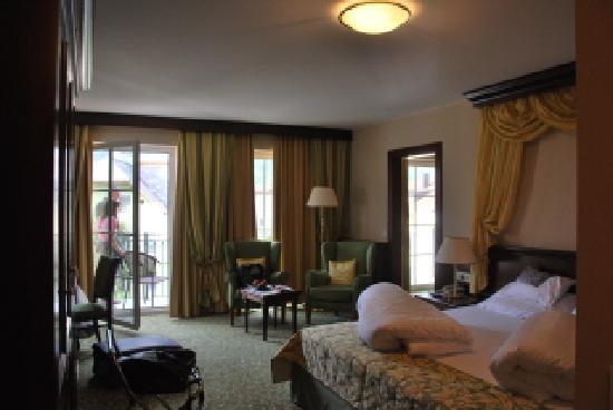Grand Hotel Lienz : La nostra suite