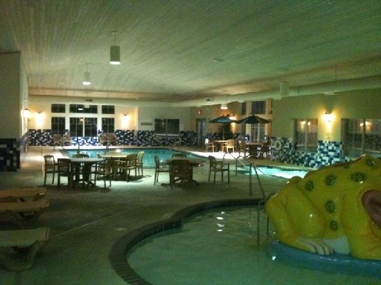 Portage, IN: Indoor Pool Area