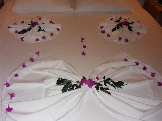 Grand Cettia Hotel: How our bed was made