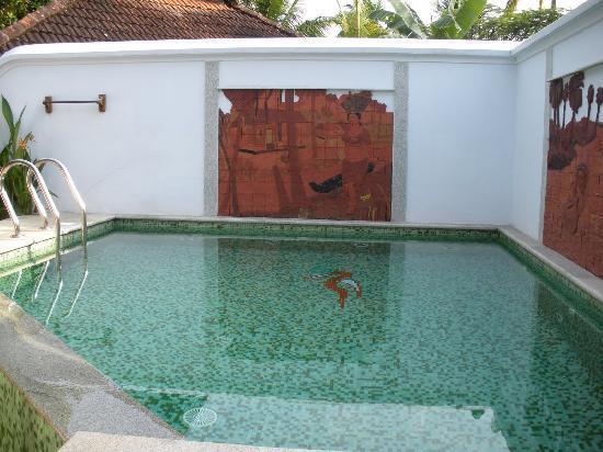 Private Pool Of A Heritage Villa Picture Of Kumarakom Lake Resort Kumarakom Tripadvisor