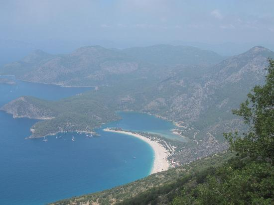 The Olive Garden: View of Lycean Way from Oludeniz