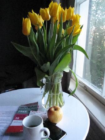 Mauro Mansion : Fresh tulips