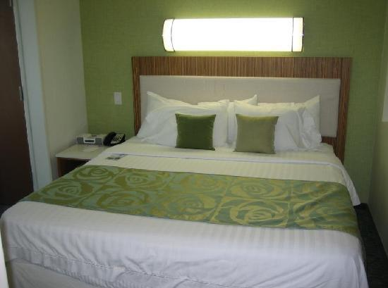 SpringHill Suites St. Louis Brentwood: Bed