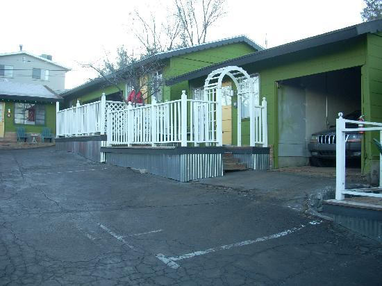 The Motor Lodge: Seperate units were once individual cabins.