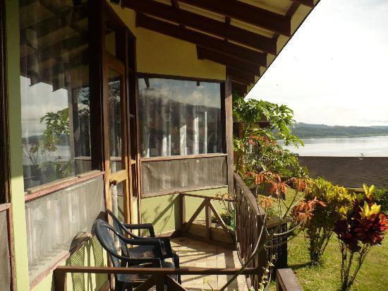 Arenal Vista Lodge: Vista desde el balcon