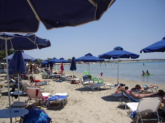 Aeolis Boutique Hotel: Naxos strand