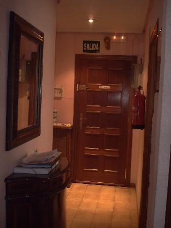 Pension Salamanca : Entrada segundo piso