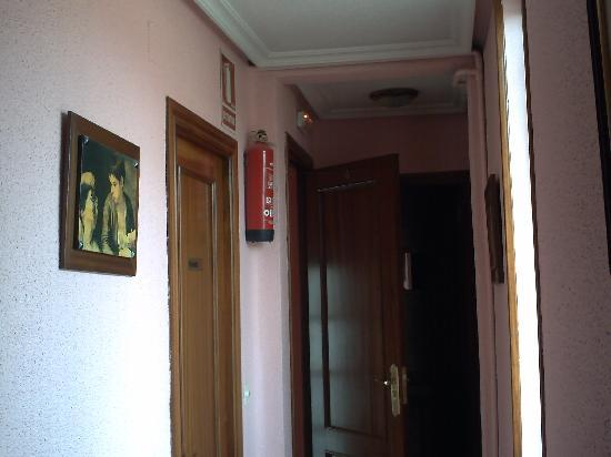 Pension Salamanca : Pasillo cuarto piso