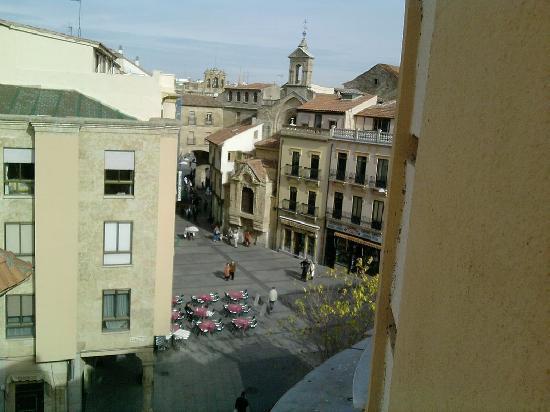 Pension Salamanca : Vista desde pensión