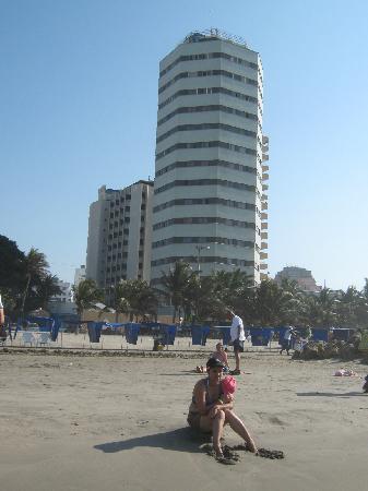 Hotel Dorado Plaza : DESDE LA PLAYA