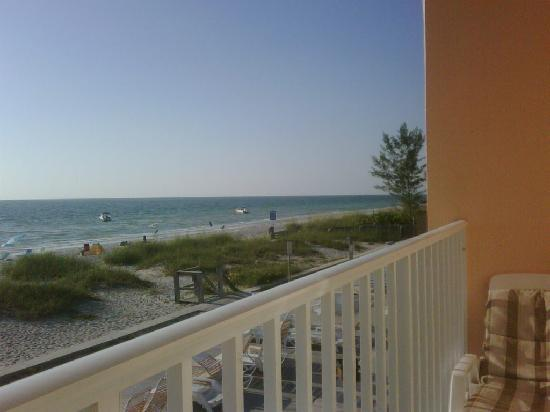 Belleair Beach Resort: view from the balcony