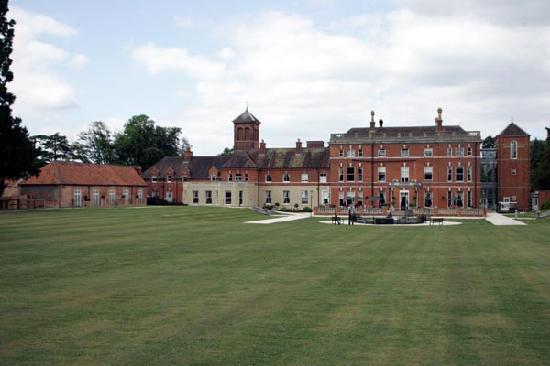 Oakley Hall Hotel: The Hotel and Gardens