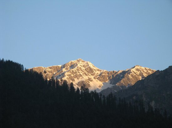 Morning Sunlight in Manali