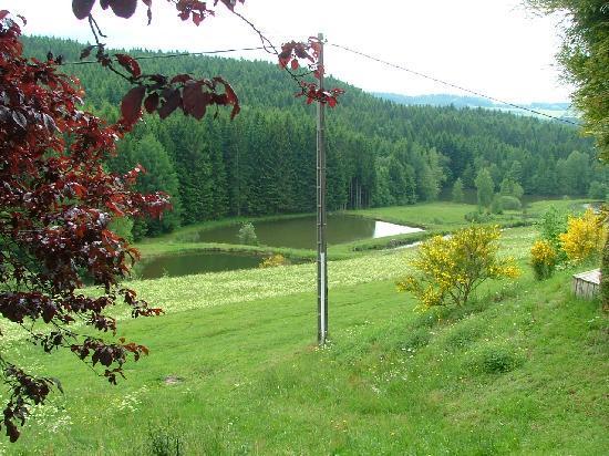 Chalets de la Vigotte : uitkijk op de vallei
