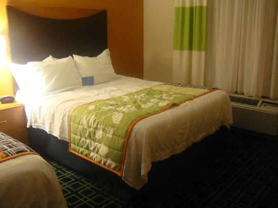 Fairfield Inn & Suites Lewisburg: Room