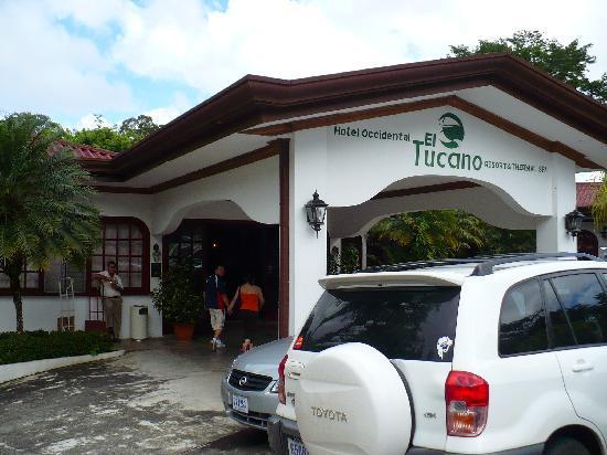 San Carlos, Costa Rica: Recepcion del hotel