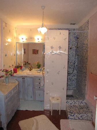 La Bastide des Anges : Suite Lavande: 1 bagno