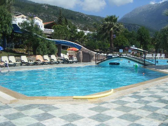 Nicholas Lodge Hotel: pool area