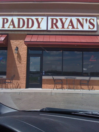 Just the name. The Patio is to the left