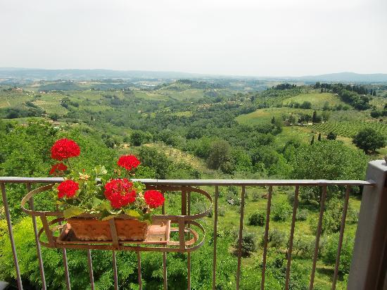 Hotel Bel Soggiorno: View from terrace