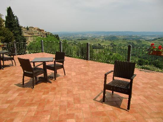 Hotel Bel Soggiorno: The terrace