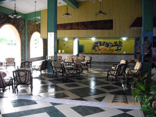 Club Amigo Carisol Los Corales: l'entrée de l'hotel
