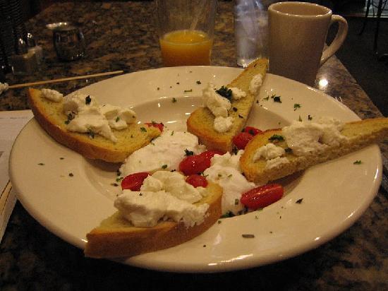 Gold Street Caffe: Egg dish for breakfast