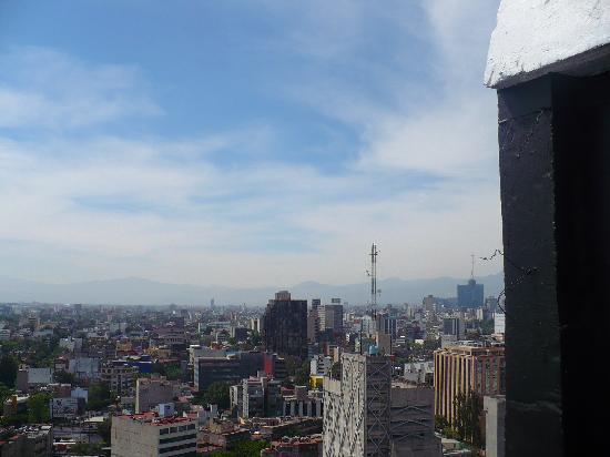 Hotel Century Zona Rosa México: Vista desde la terraza del hotel