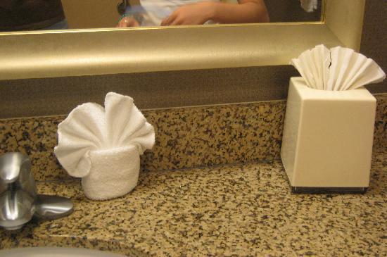 Hampton Inn & Suites San Diego-Poway: Marble countertop