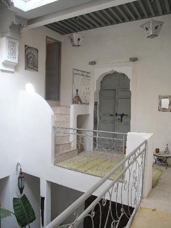 Riad Safir: view to a room