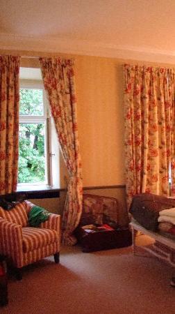 Hotel Château Béla: lovely sitting area