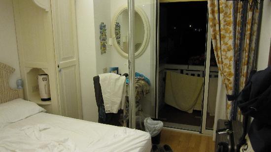 Hotel Ariston : Sehr kleines Zimmer