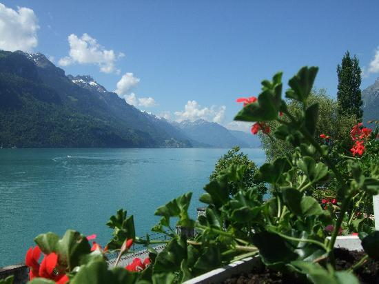 Brienz, Schweiz: Typical Swiss scenery