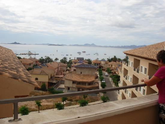 Hotel Costa Narejos : View from top Floor towards La Manga