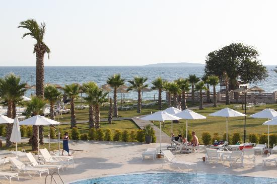 Milas, Turkey: Main pool area