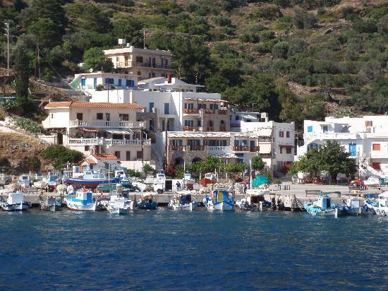 Archipelagos Hotel: hotel from ferry
