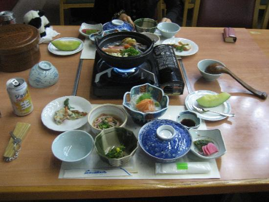 Kokusai Zao Kogen Hotel: The food was the only good point