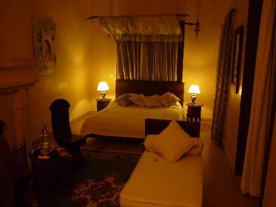 Riad Alwane: la chambre