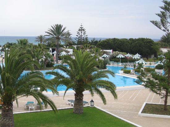 Vincci El Mansour : vue de la terrasse de l'hotel