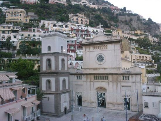 Hotel Miramare: Piazzetta, Positano
