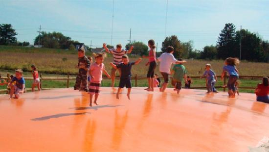 Summers Farm: The Jumping Pillow!